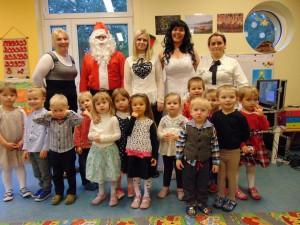 23 grudnia 2016r. - Wizyta Mikołaja w naszym przedszkolu i Wigilia